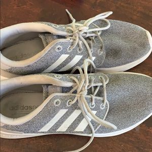 Women's adidas grey shoes